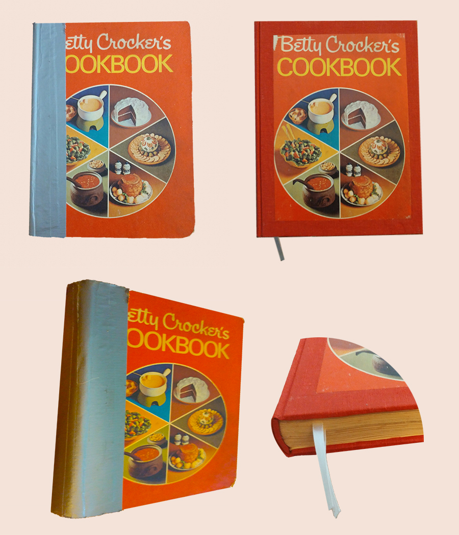 Cookbook Exterior Before and After