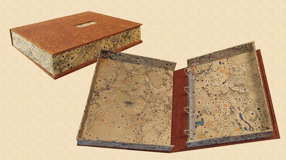 Marbled Storage Box